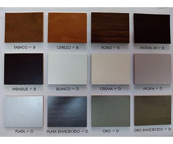 TOLEDO3. Composición apilable madera maciza lacado blanco 320 cm.