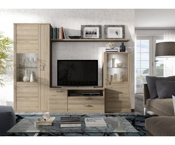 Mueble de salon barato Madridde 260cm