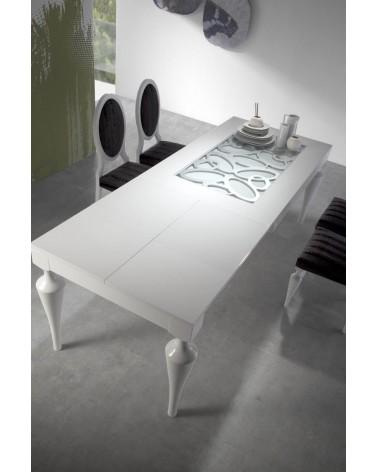 Mesa de comedor 150x90cm extensible Luxe