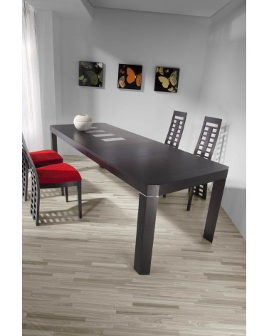 Mesa de comedor 150x90cm KYLE 2 extensibles(opcional)