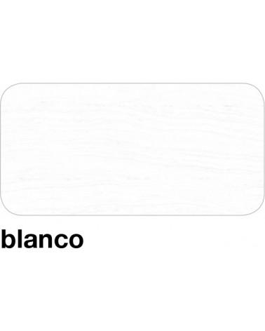 Acabado color Blanco.