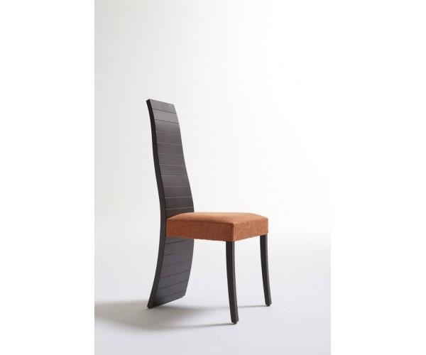 Silla de diseño Wengue-Naranja