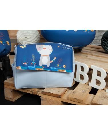 Bolso paseo Bebés Kitty Azul