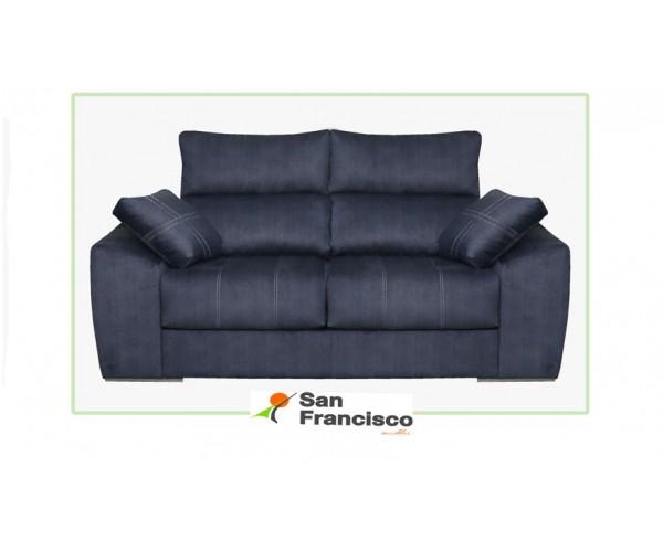 Sofá brazo recto extensible y reclinable