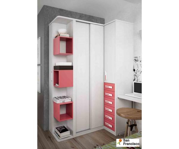 Dormitorio Juvenil para niña en oferta