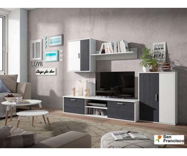 Mueble de salón 220cm en oferta