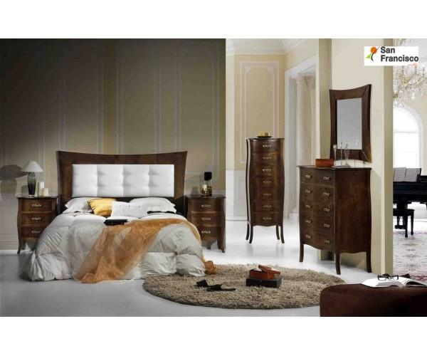 Dormitorio de matrimonio Cabecero y 2 mesitas