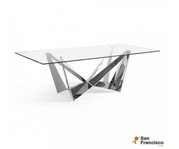 Mesa de comedor 240cm de cristal