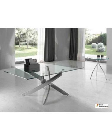 Mesa de centro 120x70cm Cristal