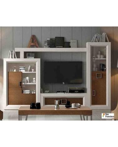 Mueble de Salón de 297cm de alto diseño