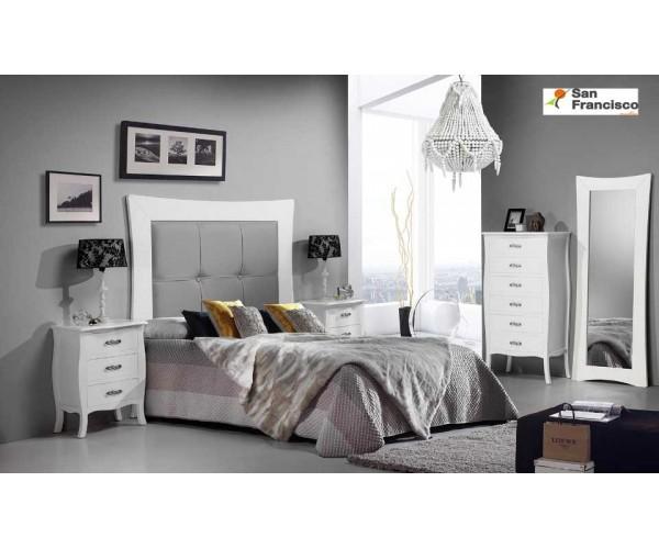 Dormitorio de Matrimonio Blanco Vivaldi