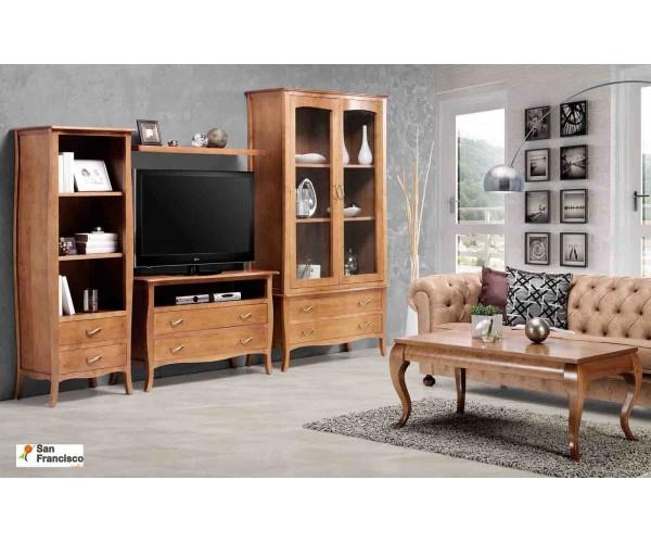 Mueble de Salón 310 cm Color Cerezo
