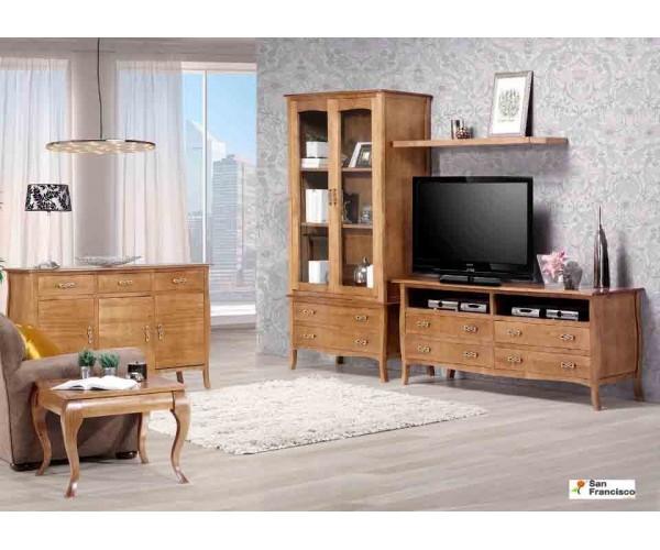 Mueble de Salón 320 cm Madera Maciza