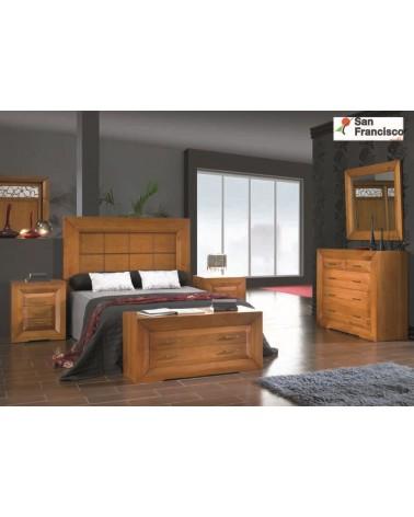Dormitorio Matrimonio Rústico color Cerezo