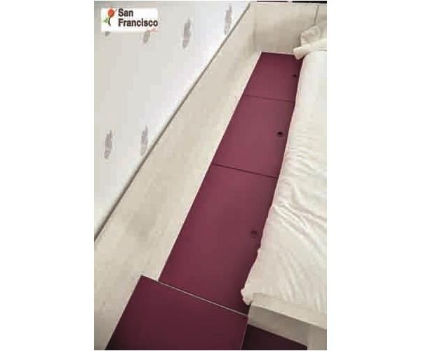 Litera Block 90x190cm con acceso escalera