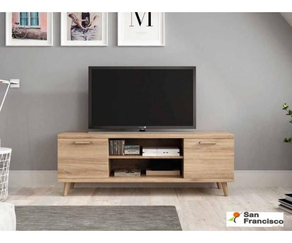 Mueble TV de 140cm con pata nórdica