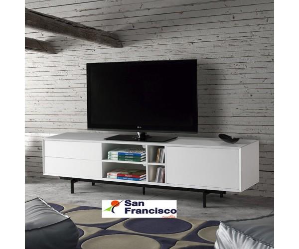 Mueble TV de 180cm 1 puerta 2 cajones