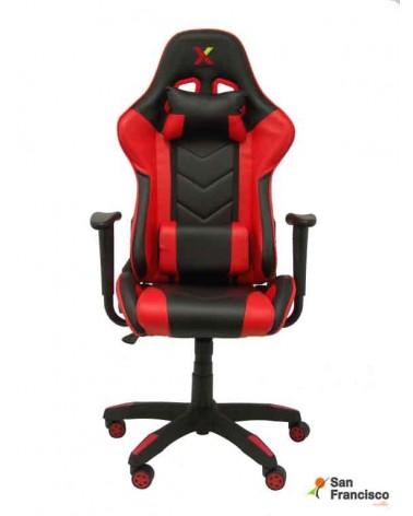 Silla Gaming Roja y Negra