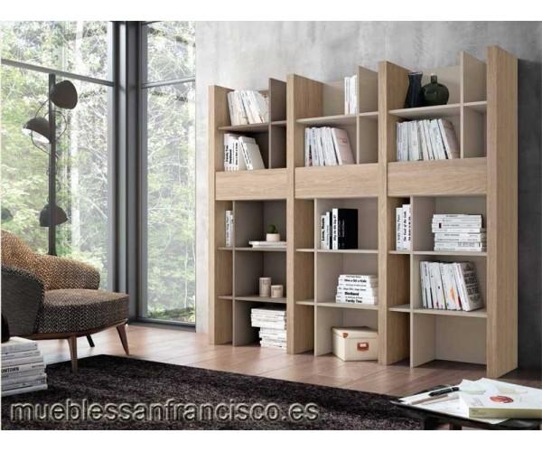 Originqal estantería biblioteca económica con separadores. Alta calidad. Elegante y original. Buen precio