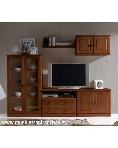 Mueble estilo Provenzal de 240 cm en madera de pino macizo
