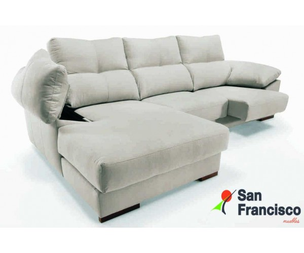 Chaisslongue 240cm Extraible y reclinable