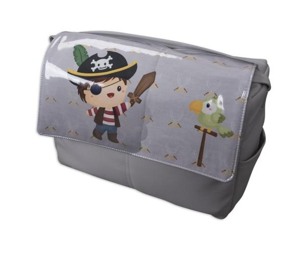 Bolso de Piel Barco Pirata Chico