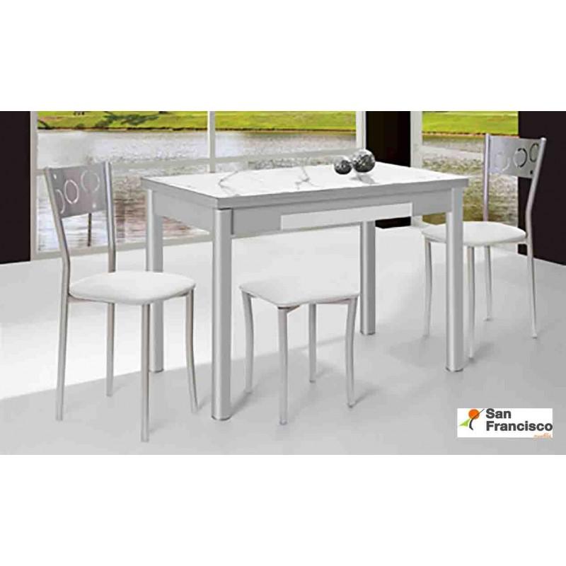 Mesa de cocina 110x70cm Extensible