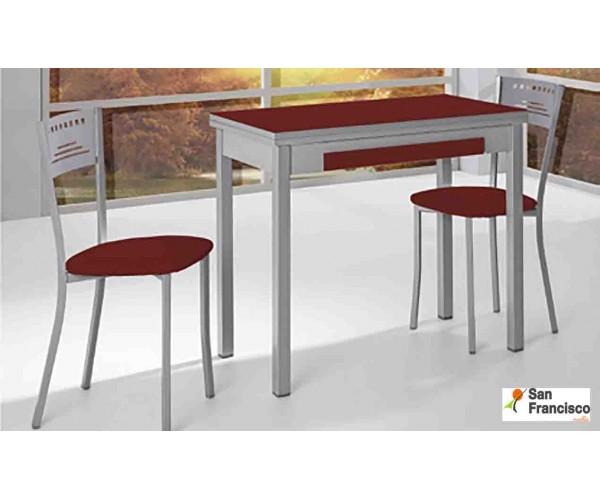 Mesa de cocina 80x45 Apertura Libro