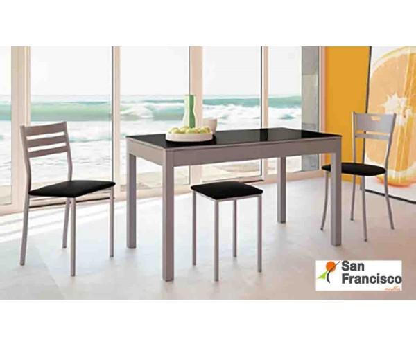 Mesa de cocina Extensible Carro 110x70cm