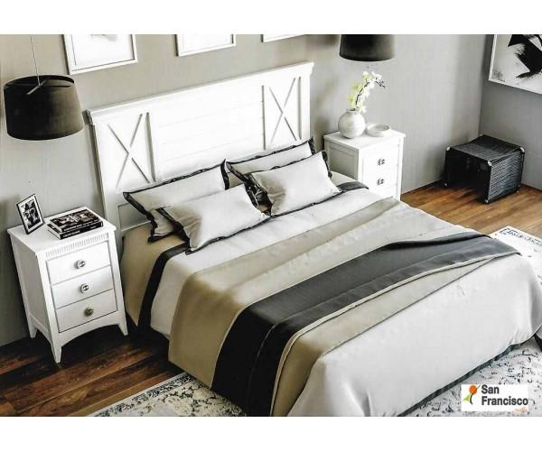 Dormitorio de Matrimonio Lacado Blanco
