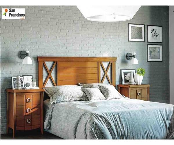 Dormitorio de Matrimonio de estilo Colonial en Cerezo